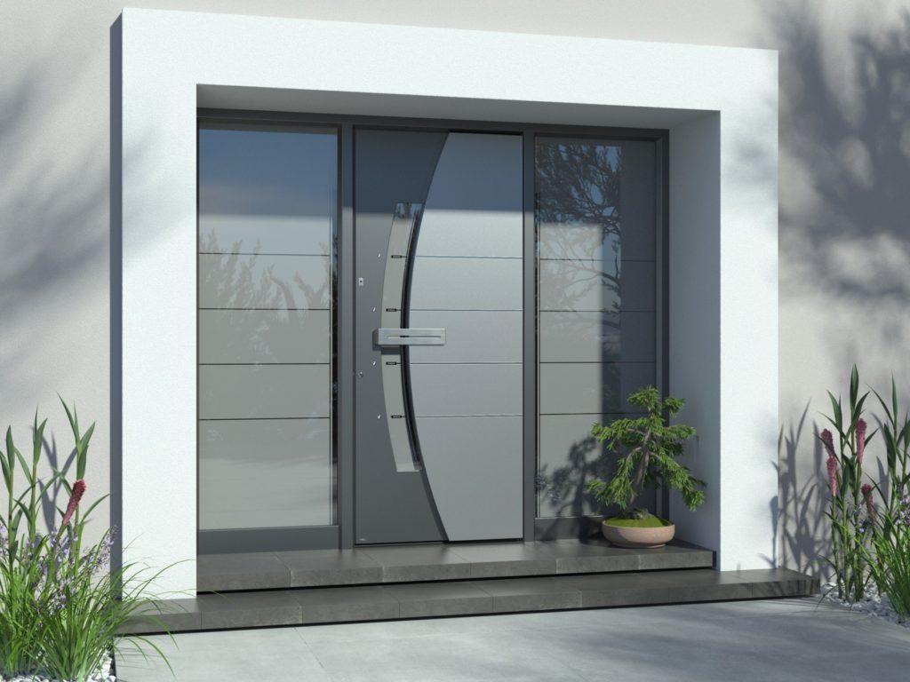 fingerprint doors